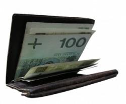Brieftasche Geld